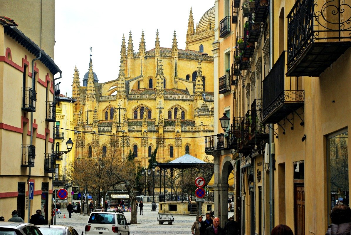 Fantastic Friday: An Unexpected View in Segovia