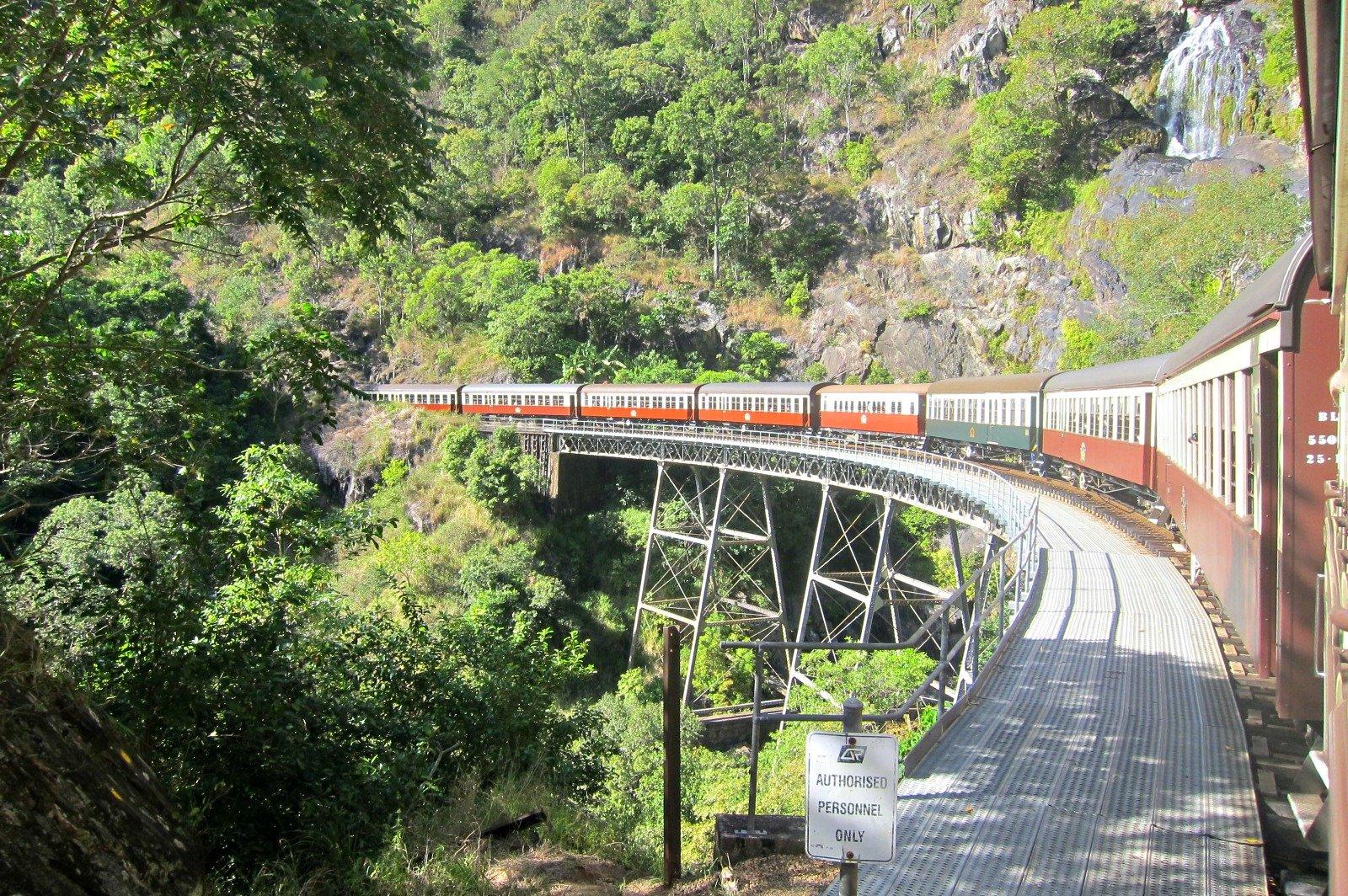 All Aboard the Kuranda Scenic Railway