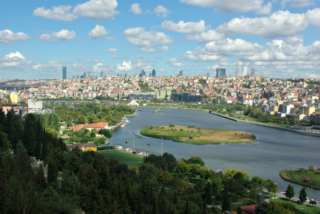 The View from the Hill at Eyup Istanbul and how to get there