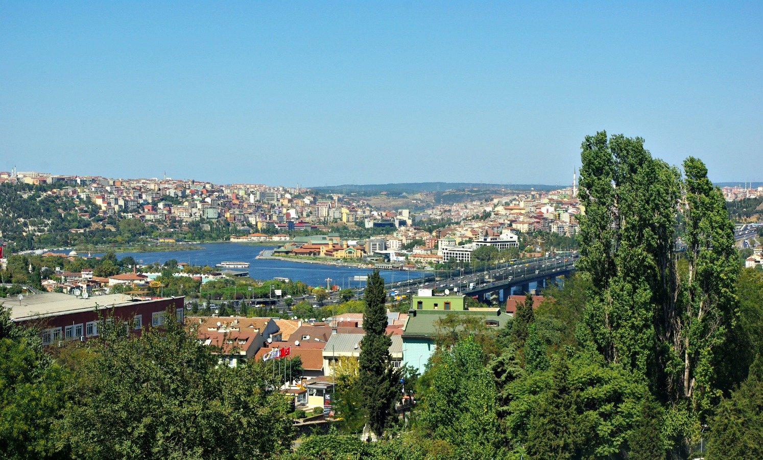 Climb the walls for the Best View in Istanbul