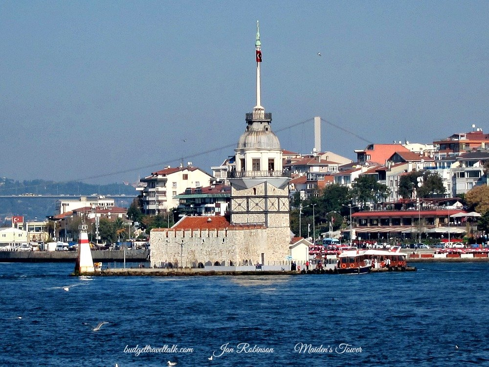 The sights of Istanbul from the Kadikoy Ferry