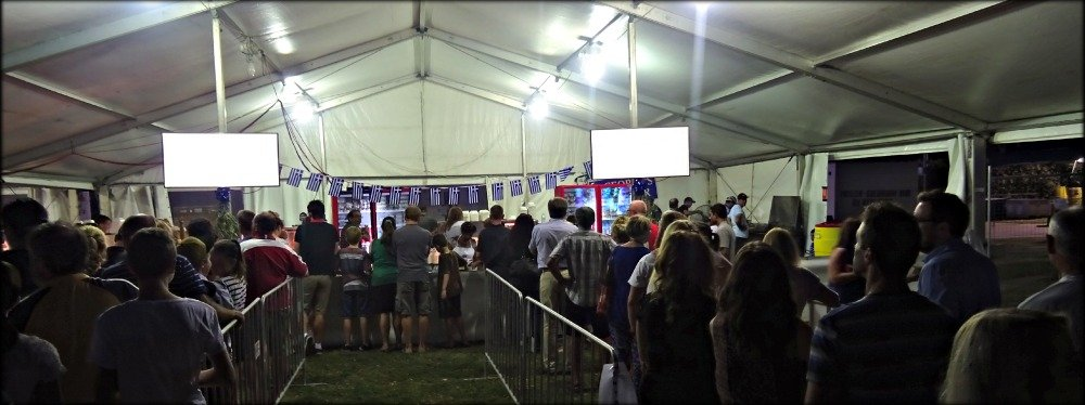 Tuesday in Townsville at the 2014 Glencore Greek Fest