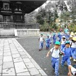 Looking Through the Chu-mon Gate at Ninna-Ji