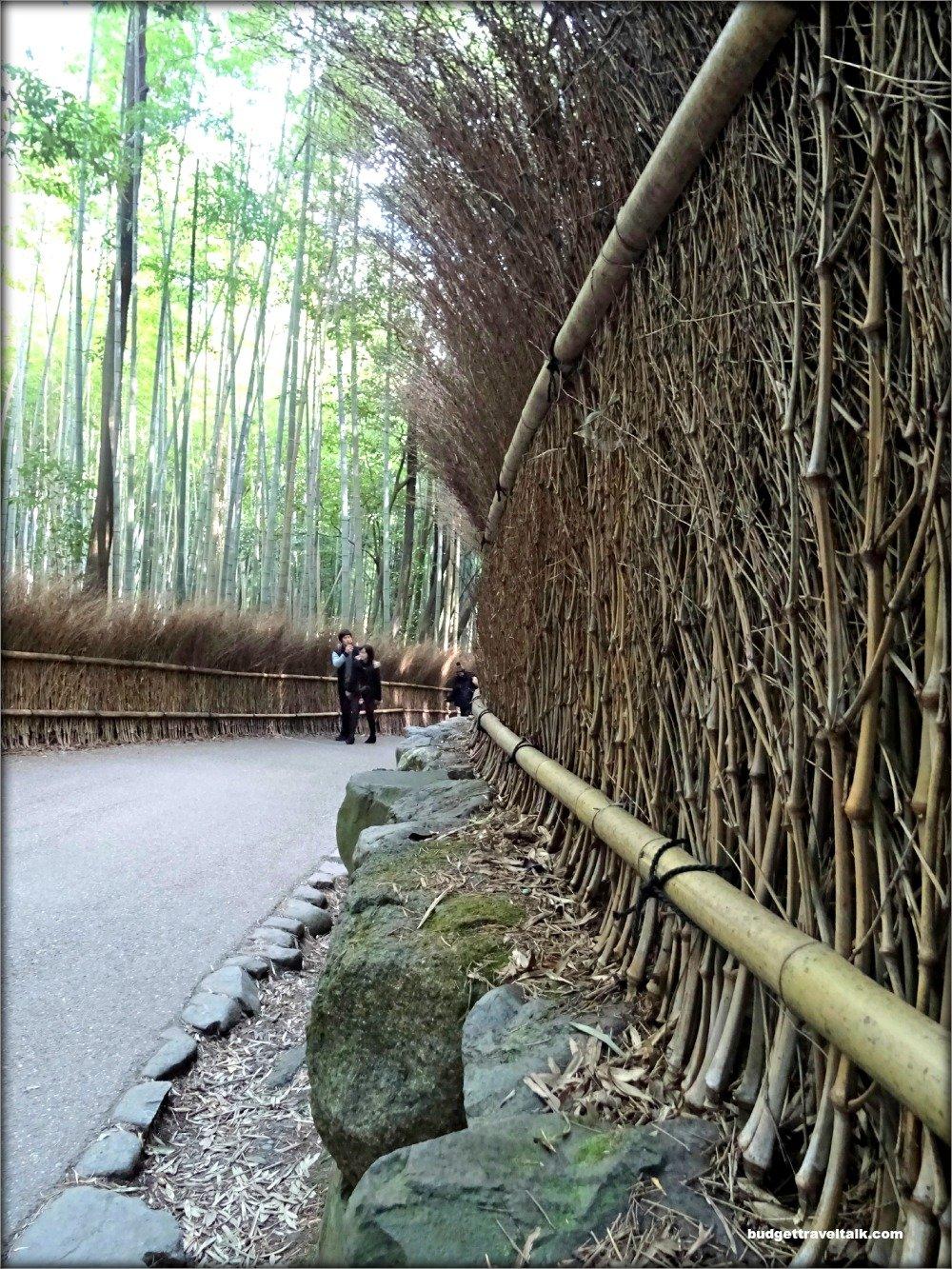 Arashiyama Bamboo Forest Fence