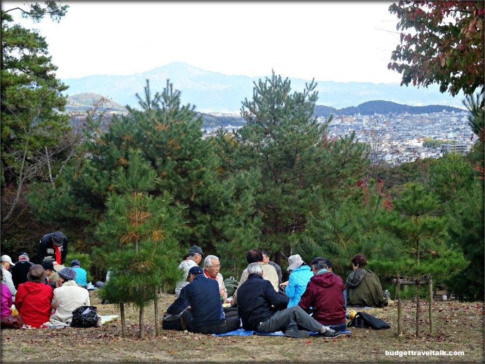 Arashiyama Kameyama Park View