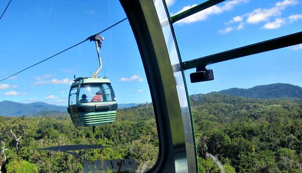 Skyrail Connects Kuranda to the Coral Sea in Tropical North Queensland