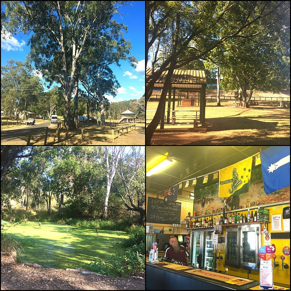 Apple Tree Creek is a great free camping area north of Childers on the Bruce Highway