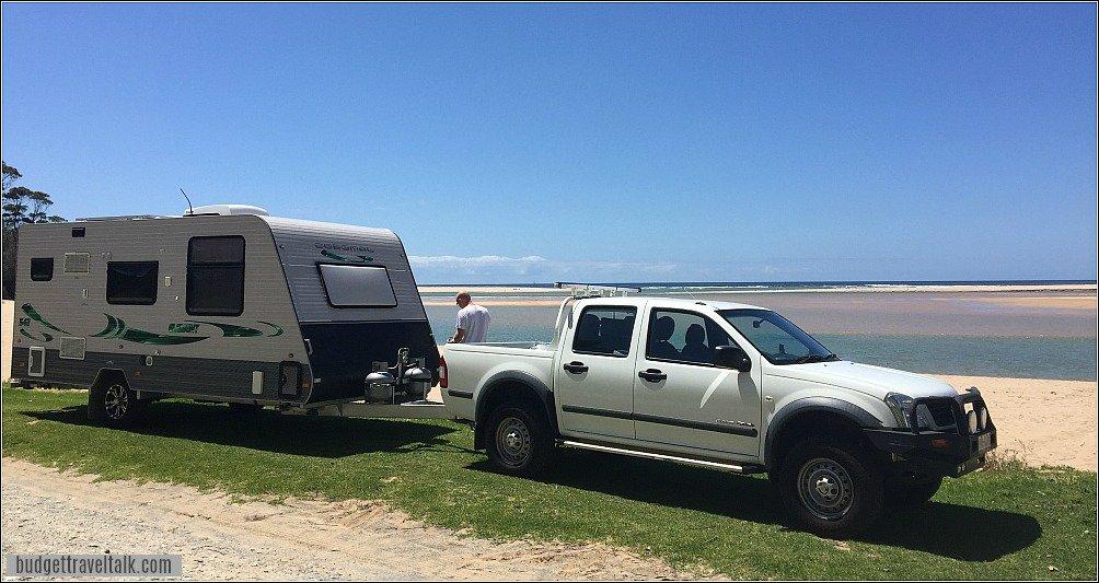 Our Coromal Caravan in Australia