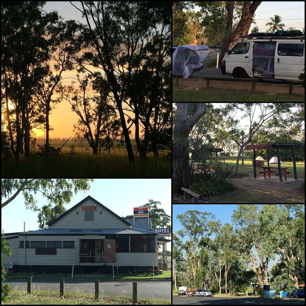 Yaamba Rest Stop in Queensland north of Rockhampton