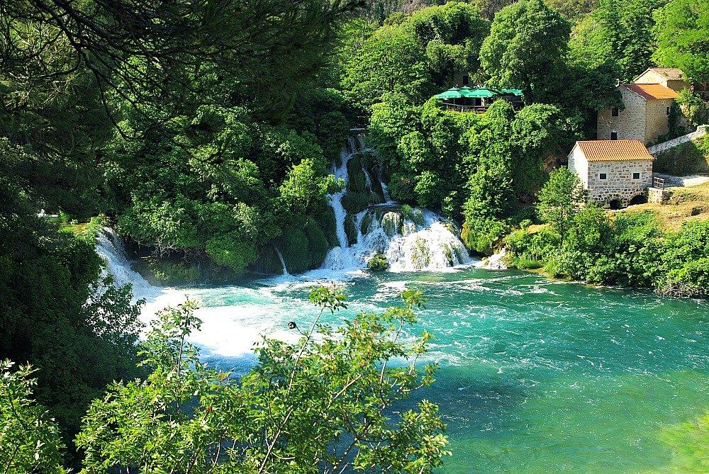 Krka Versus Plitvice Lakes National Park Croatia