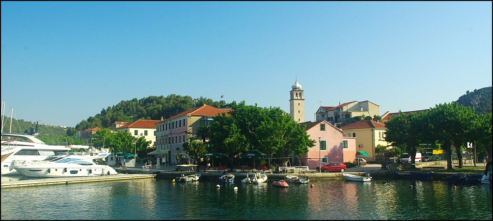 Be seduced by the Croatian river port of Skradin