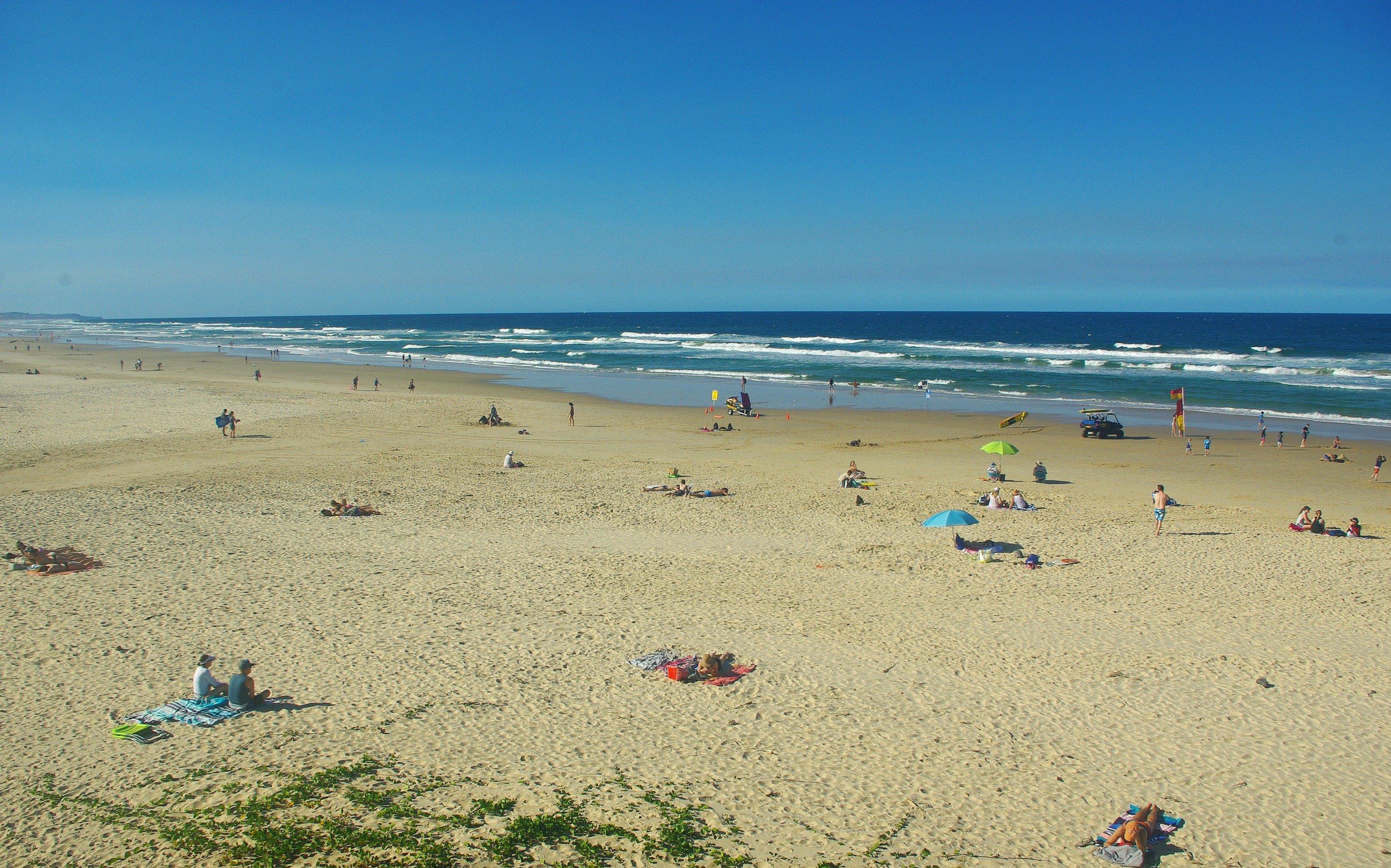 Coolum Beachgoers