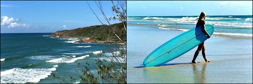 First Bay and Surfer Coolum