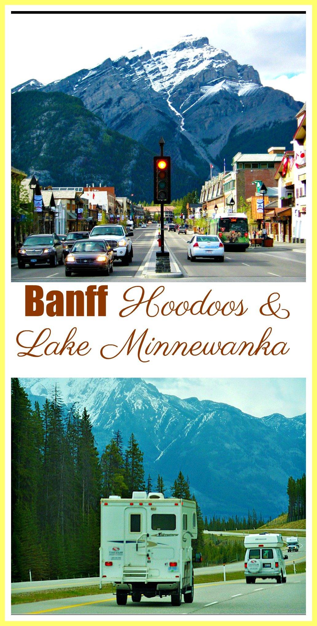 Banff Hoodoos and Lake Minnewanka Hike