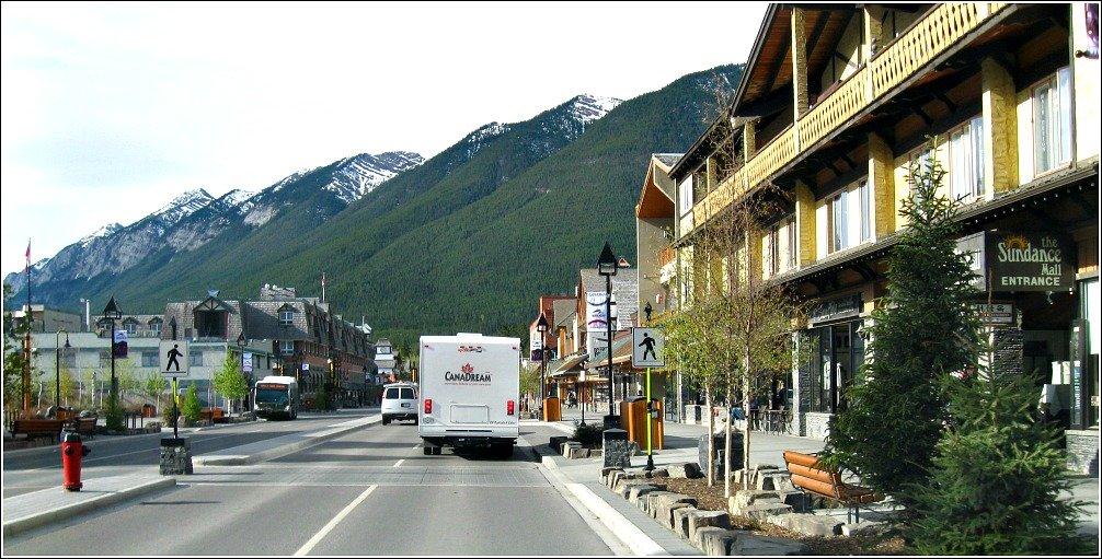 Banff Street Scene