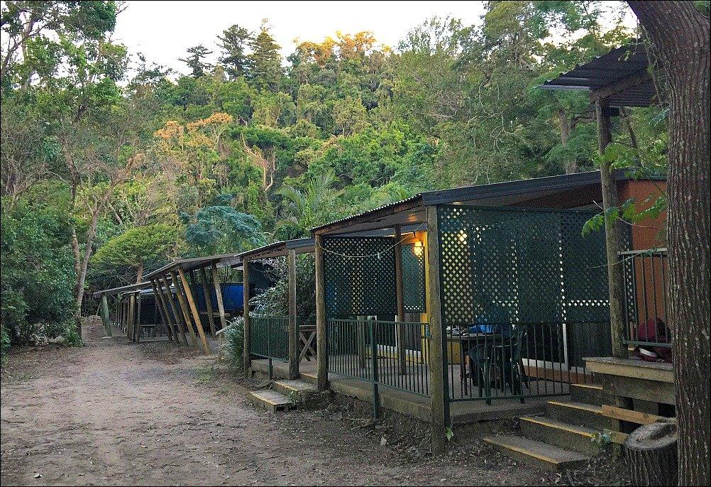 Cape Hillsborough Caravan Park Cabins