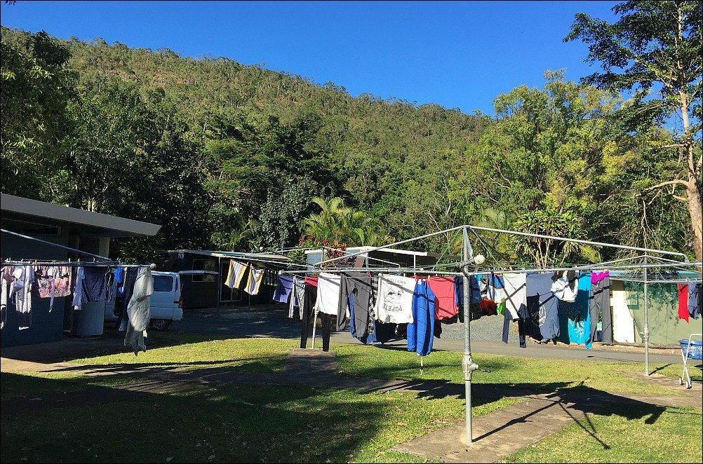 Cape Hillsborough Tourist Park Line
