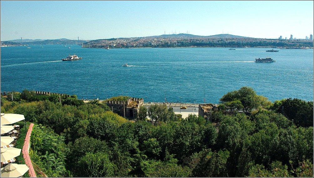 Topkapi Palace Bosphorus View
