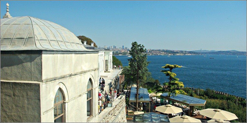 Topkapi Palace View of Bosphorus