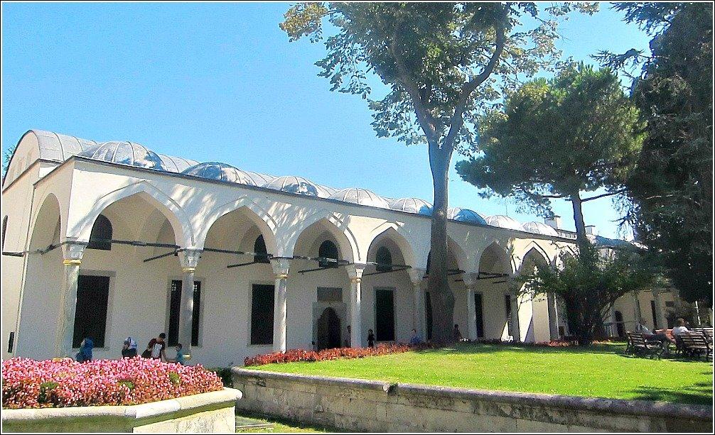 Topkapi Palace Views - The Conqueror's Pavilion Treasury