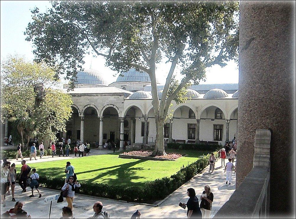 Topkapi Palace Views - Treasury