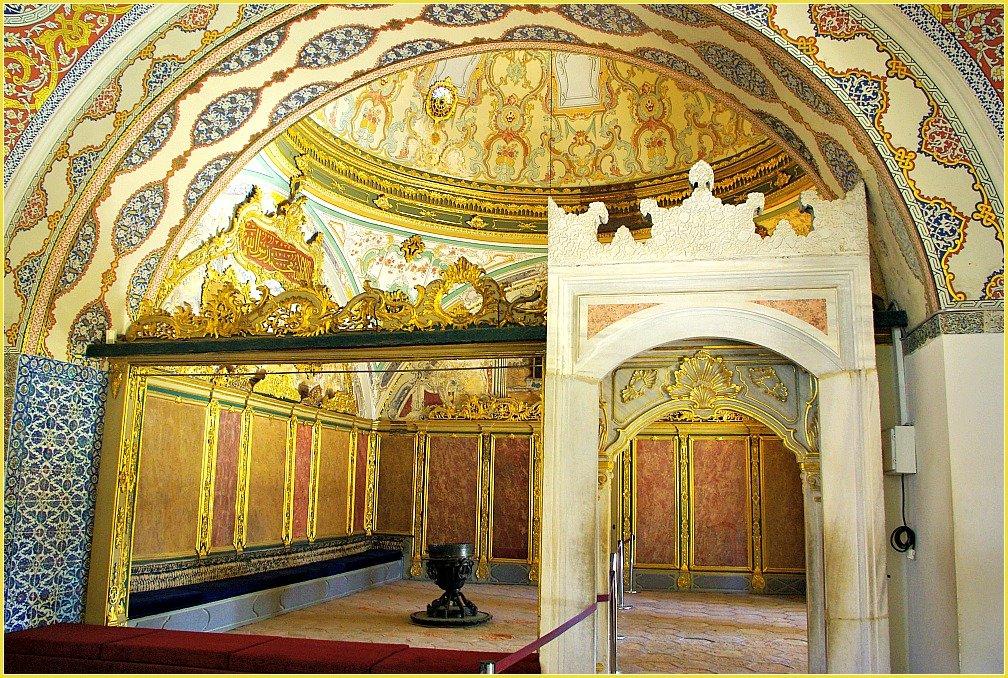 Topkapi Palace Views in Istanbul - Palace Harem Interior