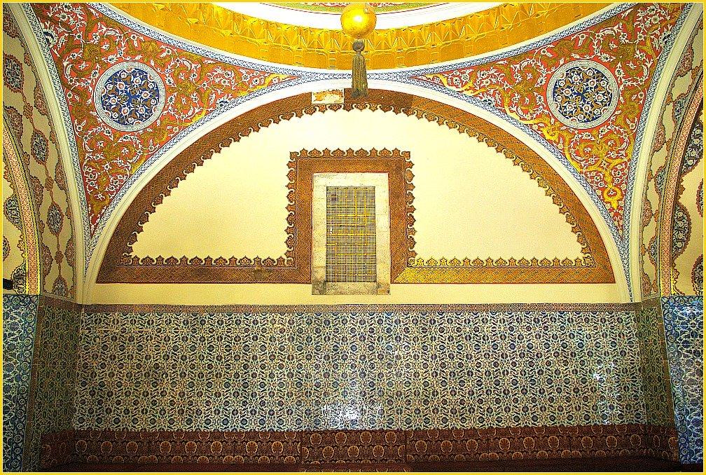 Topkapi Palace Views in Istanbul - Palace Harem