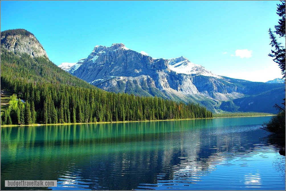 Lake Louise to Emerald Lake Detour - Emerald Lake