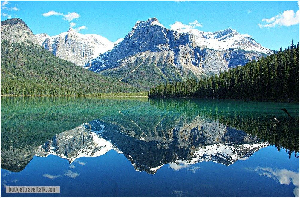 Lake Louise to Emerald Lake Detour - Lake Reflections