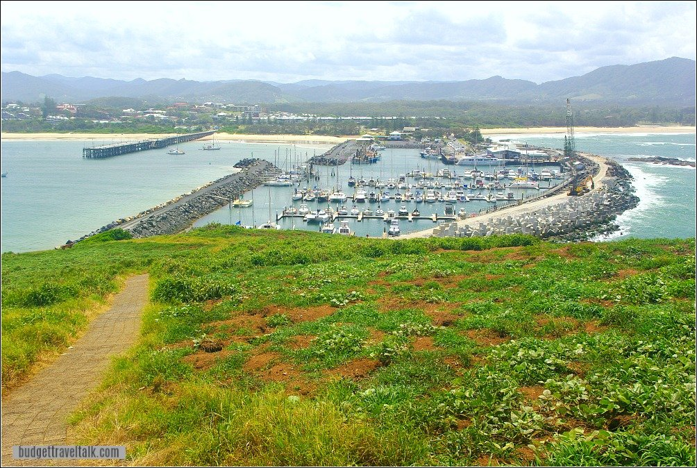 Coffs Harbour Attractions Jetty Marina and Muttonbird Island New South Wales Australia