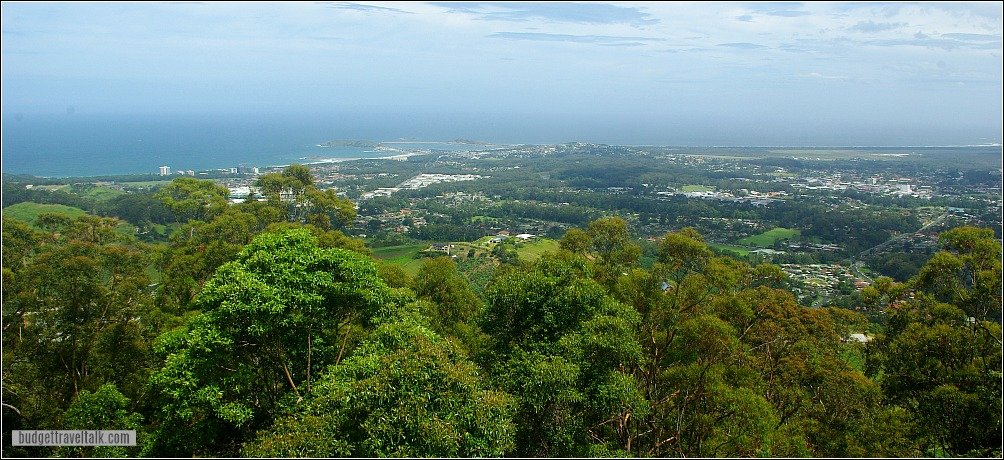 Coffs Harbour from Forest Sky Pier