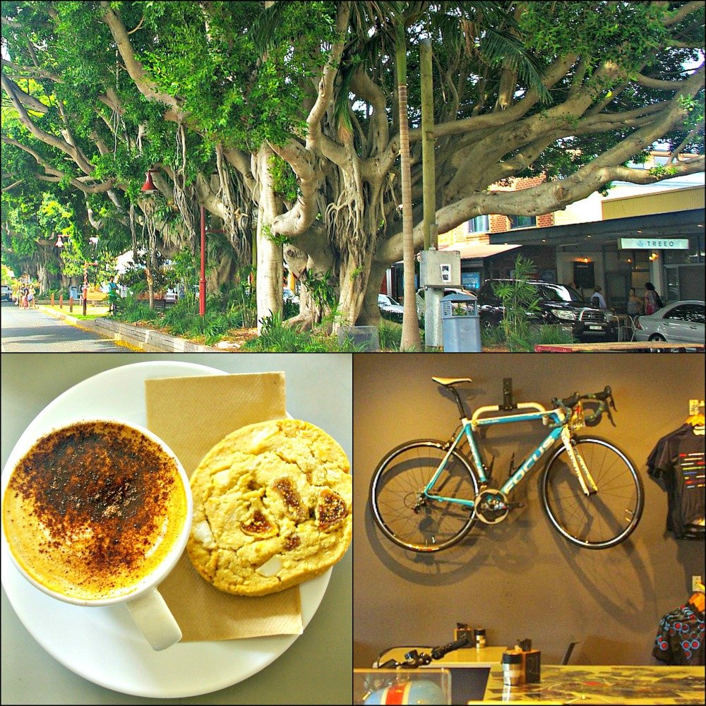 First Avenue and Split Cafe Sawtell