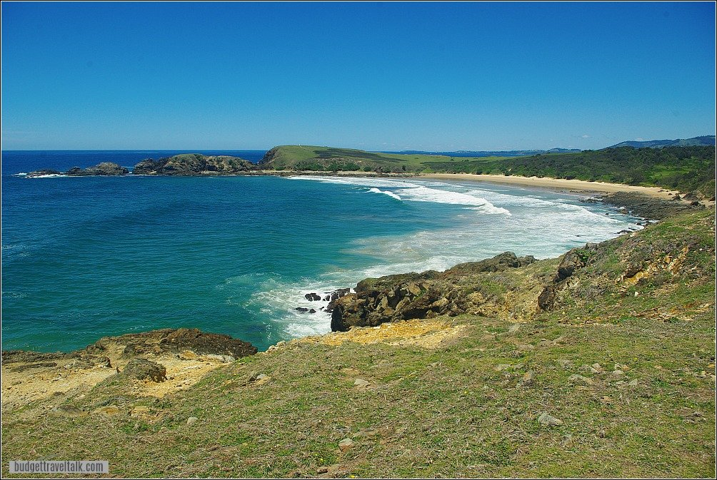 Look at me Now Headland and Serenity Beach from Emerald Beach headland