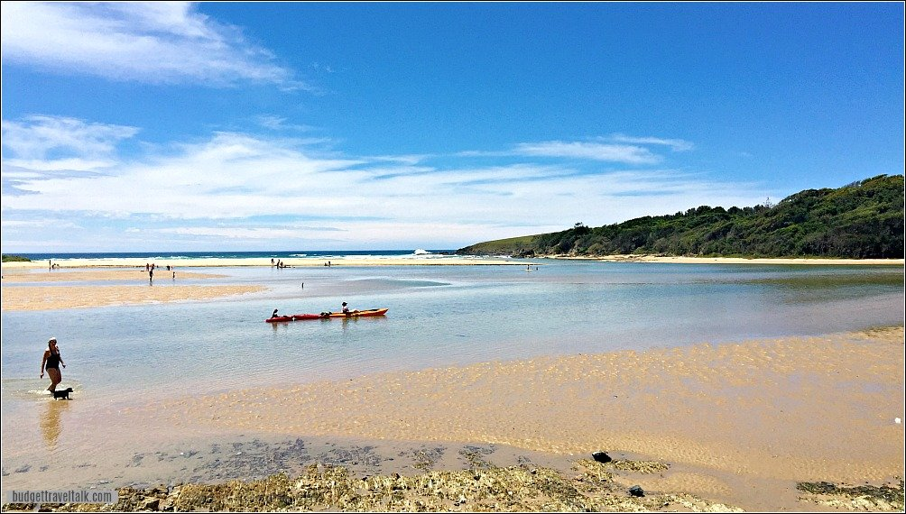 Moonee Beach Reserve Coffs Harbour Attractions New South Wales