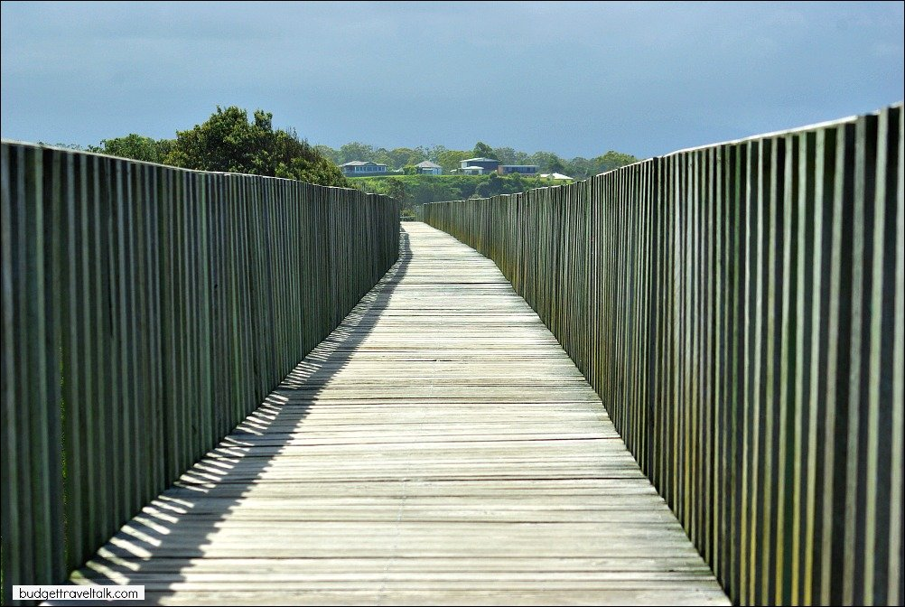 Take a walk on the Urunga Boardwalk at Urunga New South Wales