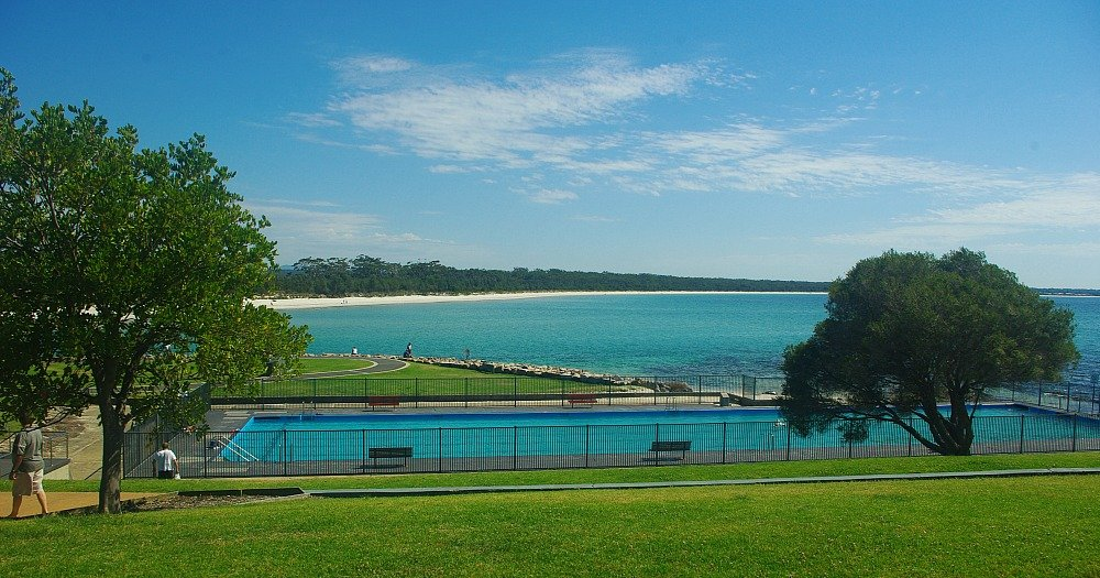 Huskisson Sea Pool Jervis Bay