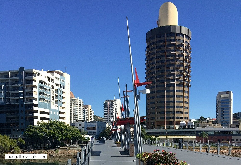 Townsville City in North Queensland is known for it's cloud free skies