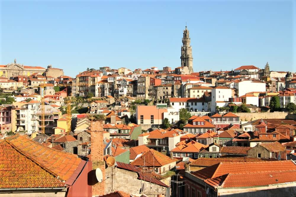 Porto, Portugal, one of the starting points for the Portuguese Camino de Santiago
