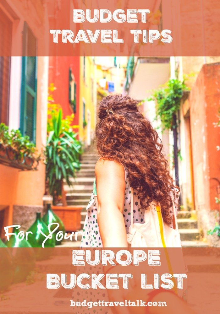 Photo for Pinterest of girl walking up stairs in Europe