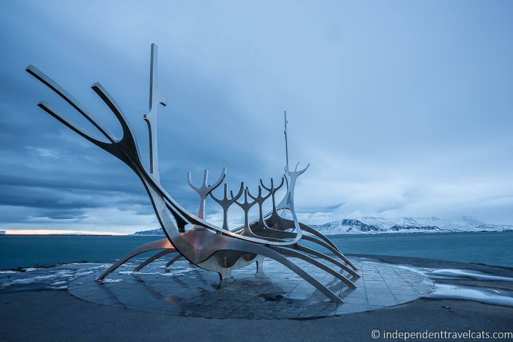 Photo of Sun Voyager Statue, Reykjavik mentioned in our post on Budget Tips from Travel Bloggers